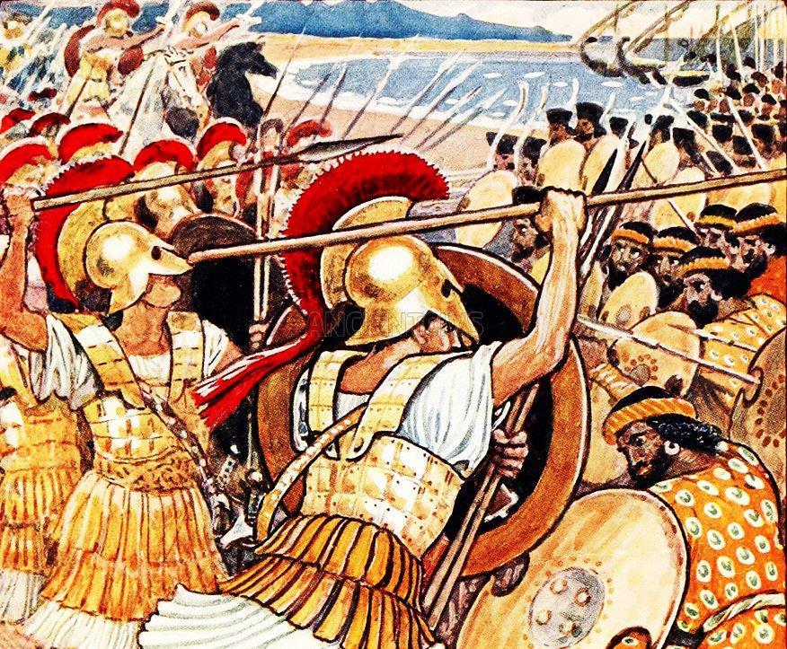 Греко-персидские войны картинки